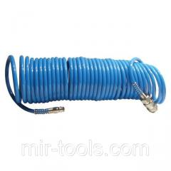 Шланг спиральный полиуретановый 5.5x8мм, 20м INTERTOOL PT-1709 Intertool