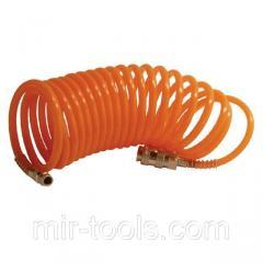Шланг спиральный с быстроразъемным соединением 10 м INTERTOOL PT-1704 Intertool