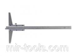 Штангенглубиномер ШГ-160-0,05 ГОСТ 162-90 Техносталь на VSETOOLS.COM.UA D020901