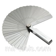 Щуп №1 70 мм 0,02-0,1 Griff на VSETOOLS.COM.UA D08473