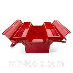 Ящик для инструментов металлический 450 мм, 3 секции INTERTOOL HT-5043 Intertool
