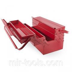 Ящик для инструментов металлический 450 мм, 5 секций INTERTOOL HT-5045 Intertool