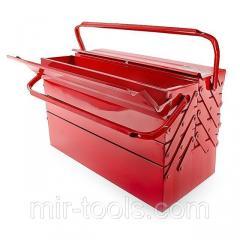 Ящик для инструментов металлический 450 мм, 7 секций INTERTOOL HT-5047 Intertool