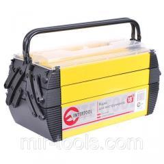 Ящик для инструментов металлический, 18 , 5 секций, 454x210x230 мм INTERTOOL BX-5018 Intertool