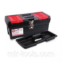 Ящик для инструментов с металлическими замками, 16 396x216x164 мм INTERTOOL BX-1016 Intertool