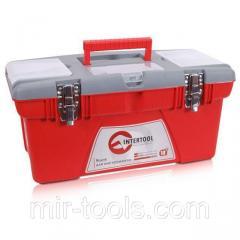 Ящик для инструментов с металлическими замками, 18 480x250x230 мм INTERTOOL BX-0518 Intertool