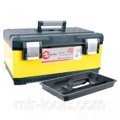 Ящик для инструментов с металлическими замками, 21 534x366x266 мм INTERTOOL BX-2021 Intertool