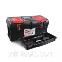 Ящик для инструментов с металлическими замками, 24 610x255x251 мм INTERTOOL BX-1024 Intertool