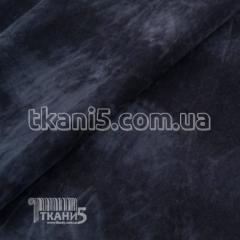 Fabric Suede on jersey (dark blue) 994