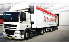 Автомобильные перевозки грузовыми автомобилями от компании Новая Почта (Нова Пошта)