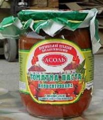 Tomato paste, wholesale
