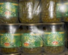 Peas are tinned, wholesale