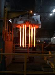 Electric heating ladles