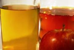 Apple juices not clarified concentrated