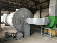 Drying drum ABM 1,5 for a tyrsa, spill, sand