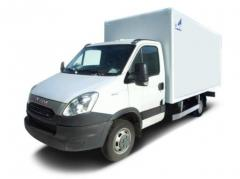 Installation of hydraulics on Iveco Daily