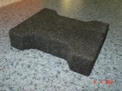 Тротуарная плитка резиновая