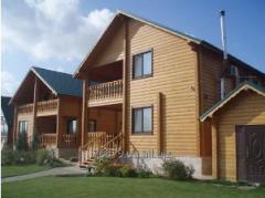 Дом деревянный из клееного бруса