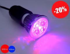 Фитолампа для подсветки растений EcoSun 10Вт