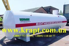 Резервуар двустенный для хранения нефтепродук