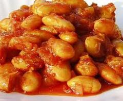 Beans in tomato sauce, 0,5l.