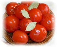 Tomatoes red tinned, 3 l.