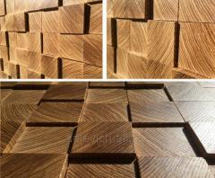 Деревянная панель на стену. Ясень, дуб. Любой дизайн