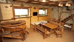 Деревянная декоративная балка из липы 150*90 мм