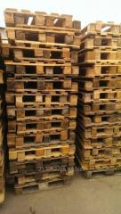 Поддон деревянный б/у 1200*800