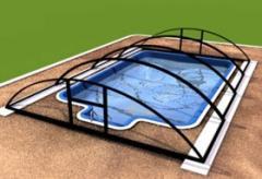 Павильоны для бассейнов BASIC (Основной), Ровно.