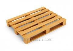 Поддоны (паллеты) деревянные