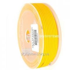 3,0 мм, Каучуковый шнур | Желтый (Италия)