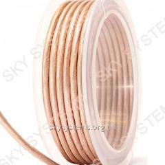 3,0 мм Кожаный шнур | Цвет: Перламутровый