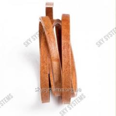 8 x 5 мм, Светло-коричневый | Кожаный шнур Regaliz | Испания
