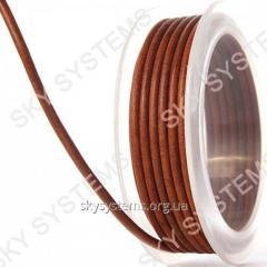 3,0 мм Кожаный шнур | Цвет: Антик коричневый /3 матовый