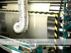 Equipment for perforation and rewind of BTE-200I