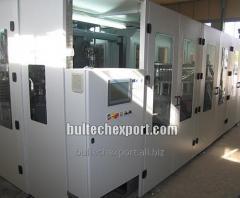 Аппарат для выдува ПЭТ бутылок ротационного типа с производительностью 8000-12000 бут. в час