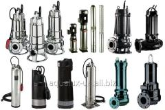 Submersible pumps for the household and industrial