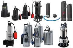 Дренажные насосы для воды промышленные и бытовые