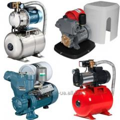 Pump stations household and industrial