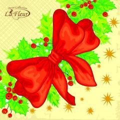 Салфетка ТМ La Fleur 33х33,  Помела