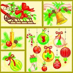 Салфетка ТМ La Fleur 33х33, Праздничный декор
