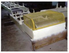 Horizontal belt conveyers