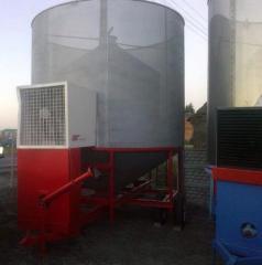 Сушильная установка Pedrotti емкость от 8 т. до 50