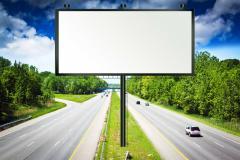 Advertizing on billboards