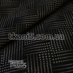 Ткань Замш обивочный (черный)