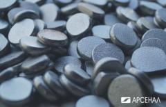 Аноды никелевые диски 10 мм, коронки 10-15 мм,