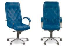 Кресло Cuba steel chrome (с механизмом