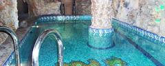 SPA pools, zone Wellness, construction of SPA of