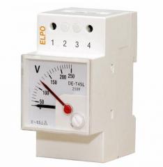Аналоговые индикаторы тока и напряжения